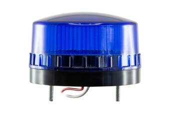 12V DC 100mA Blue SMD LED Strobe Light 60dB Sound 43mm Mounting Bolt Spacing