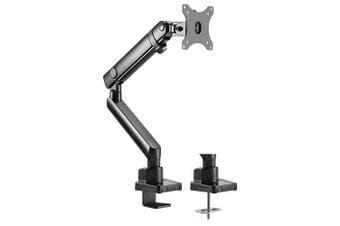 Brateck Single Monitor Aluminium Slim Mechanical Spring Arm For 17-32 Inch