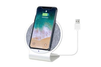 mbeat Aurora 10W Dual Coil Aluminium Wireless Charging Mobile Stand Quick Charge