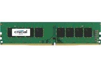 Crucial 16GB DDR3L UDIMM 1600MHz CL11 1.35V Dual Rank Single Stick PC Memory RAM