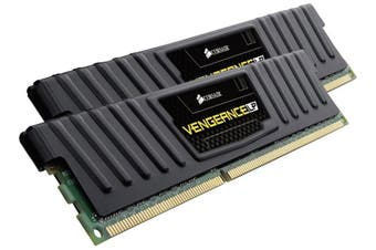 Corsair Vengeance Low Profile 2 8GB DDR3 UDIMM 1600MHz C9 1.5V Memory Black