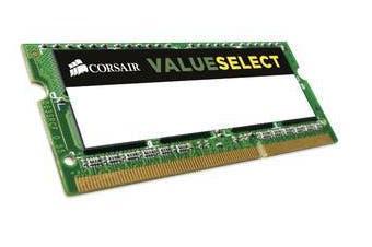 Corsair 4GB DDR3L SODIMM 1600MHz 1.35V 204Pin Notebook Memory