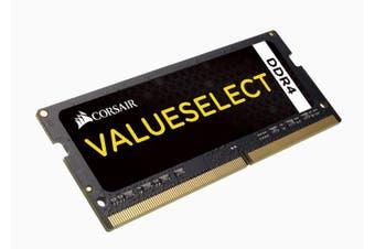 Corsair 4GB DDR4 SODIMM 2133MHz Black 1.2V 15-15-15-36 260Pin Notebook Memory