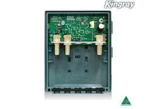 Kingray UHF Masthead Amplifier MHU35F F Type 35dB UHF diplex VHF Separate or Combined input