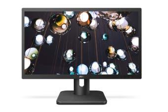 AOC 21.5Inch 5ms HD Monitor FlickerFree HDMI-VGA VESA 75mm Flicker Free