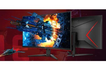 AOC 31.5Inch Curved 144Hz HDR Ultra NarrowBorder Gaming Monitor Tilt LowBlueMode