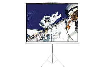 Brateck 65 InchTripod Portable Projector Screen Black Light Weight Durable