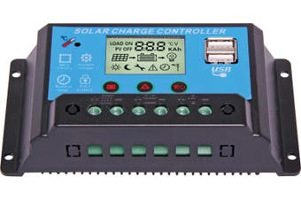 12/24V 20A Solar Charge Controller With USB