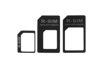 Nano + Micro Sim Card Adapter Nano /Micro /Standard Sim