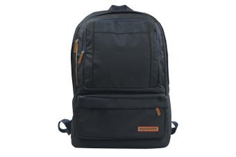 Promate Drake Premium Backpack for Laptops up to 15.6inch Multiple Storage Black