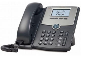 Cisco 1 Line IP Phone with 2 Port Gigabit Ethernet Switch PoE and LCD Display