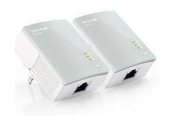 TP-Link AV500 Nano Powerline Adapter Starter Kit 500Mbps HomePlug AV 300m Range