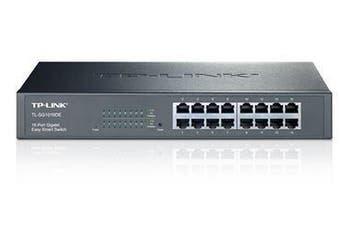 TP-Link 16-Port Gigabit Easy Smart Switch Network Monitoring VLAN Features