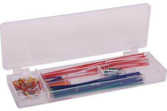 140pc Prototyping Wire Kit For Solderless Breadboards