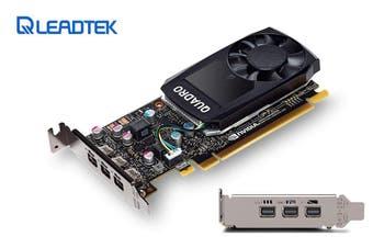 Leadtek nVidia Quadro PCIe Professional Graphic Card 2GB DDR5 Single Slot