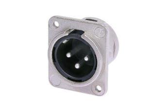 3 Pin XLR Panel Plug Neutrik
