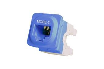Mode3 Security Mech Socket IDC Modular RJ45 Suits Clipsal