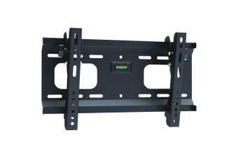 Brateck Plasma LCD TV Ultra-Slim Tilting Wall Bracket up to 55 Inch Spirit Level