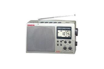 Fm/Am Long Range Radio Grey -Fringe Reception Sangean