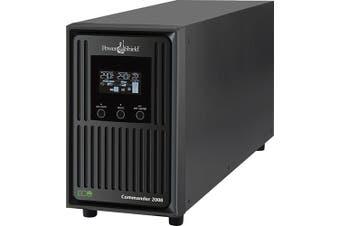PowerShield Commander 1100VA 990W Line Interactive Sine Wave Tower UPS with AVR