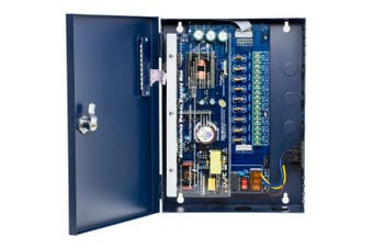 9 Way 12V DC 10A Power Supply With PFC Surge Protection