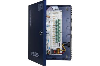 DOSS PW1612B16 16 Way 12v Dc 16a Power Supply With Pfc Surge Protection
