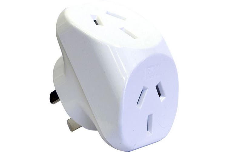 Double Adaptor 3Pin - HPM Under / Over No Packaging