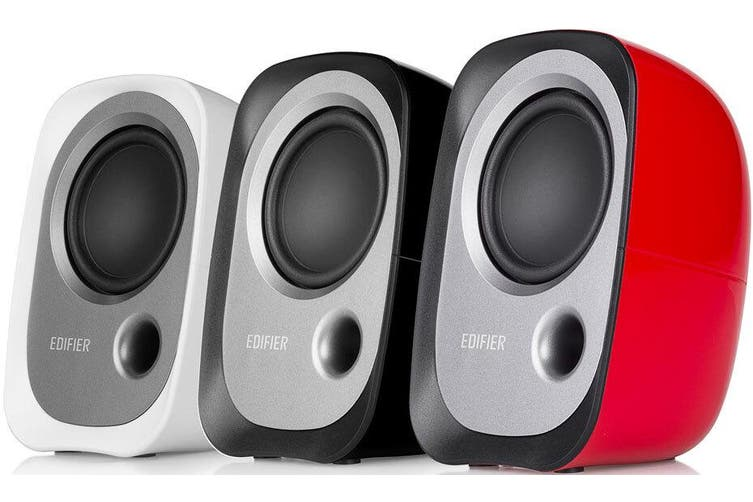 Edifier R12U USB Compact 2.0 Multimedia Speakers System White 3.5mm AUX