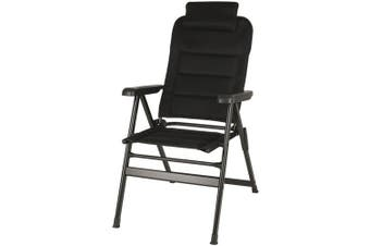 Folding Camping Chair with Removable Pillow Padded seat Adjustable Cushioned Headrest