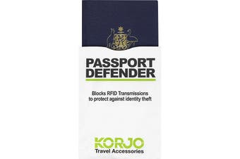 Korjo Passport Defender 2 Pack Protect Against Identity Theft FIPS 201 Compliant