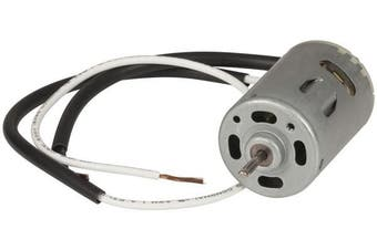 Replacement 12V motor with D-shaft to suit vent fans attache fly leads