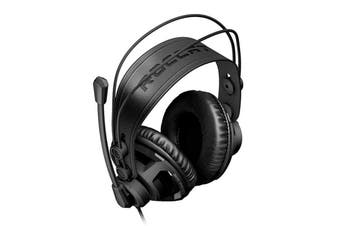 Roccat RENGA Boost Studio Grade Over-ear Stereo Gaming Headset 3.5mm Volume