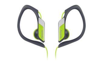 Panasonic Yellow Water Resistant Sports Clip Earphone