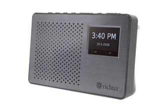 "DAB+ Fm 2.4"" Display Radio Richter"
