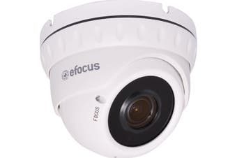 2.0 Megapixel Weatherproof Vari-Focal IP Dome Camera