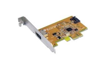 Sunix SATA1616 PCI Express SATA3.0 Card 6Gbits 2Port PCI Express RIAD Controller