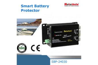 Motormate 24V 30A  Max Smart Battery Protector against Low Volt or Overload