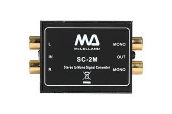 Stereo To Mono Audio Converter passive