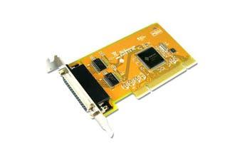 Sunix COMCARD-2LP Dual Port Serial IO Card Low Profile PCI Card 2 Port RS-232