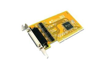 Sunix PCI 4-Port Serial RS-232 Card Universal PCI Low Profile Serial Board