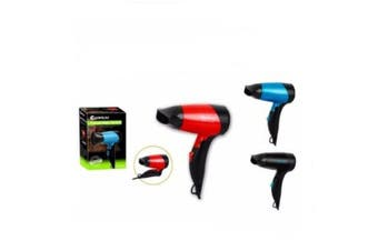 Sansai Foldable Travel Hair Dryer Built in Safety Cut Off With 1.8M AC Cord