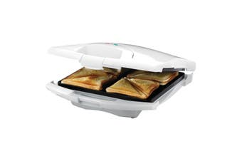 Tiffany Electric 4 Slice Sandwich Maker Press Toast Square Loaf Bread Toaster