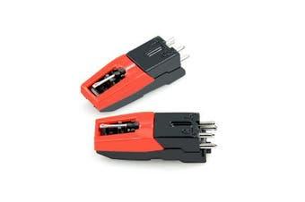 mbeat Turntable Stylus Cartridge Kit Twin Pack
