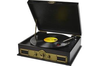 Vintage USB Turntable Recorder Bluetooth SPK Am Fm Radio