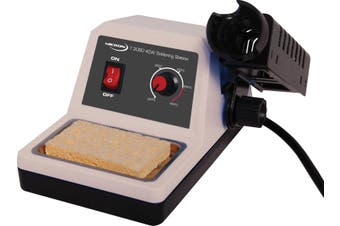 Micron® Economy 40W Soldering Station High insulation ceramic heating element for rapid heat-up and instant recovery