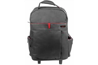 Promate Premium Multi-purpose Portable Trolley Bag for Laptops upto 15.6Inch