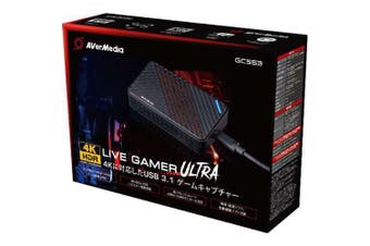 AVerMedia GC553 Live Gamer Ultra 4K Recording Edit Capture and Record 1 Yr Wty