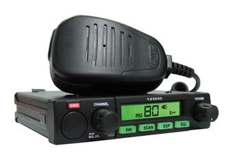 GME TX3500S 5 Watt 477MHz 80 Channel Compact UHF Radio w ScanSuite