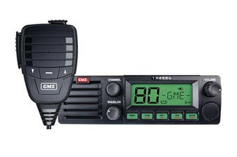 GME TX4500S 5 Watt 477MHz 80 Channel Fully Featured DIN Mount UHF Radio w ScanSuite
