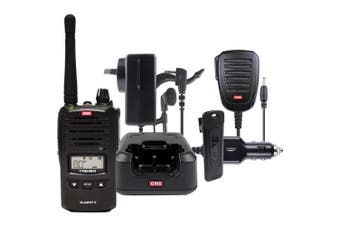5W UHF CB Handheld Tranceiver GME With Accessories Pack